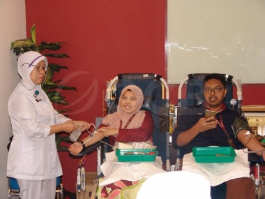 Helping to Save Lives: Our Blood Donation Drive for Hospital Sultanah Aminah